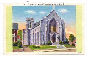 USA - NORTH CAROLINA - ASHEVILLE, First Christian Church