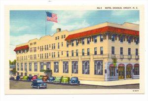 USA - NORTH CAROLINA - SHELBY, Hotel Charles, oldtimer