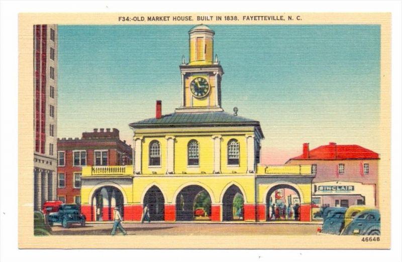 USA - NORTH CAROLINA - FAYETTEVILLE, Old Market House