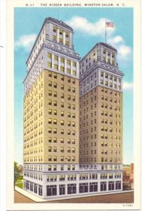 USA - NORTH CAROLINA - WINSTON SALEM, Nissen Building