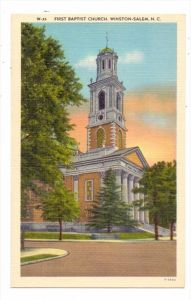 USA - NORTH CAROLINA - WINSTON SALEM, First Baptist Church