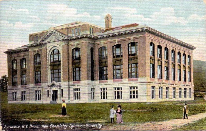USA - NEW YORK - SYRACUSE, Brown Hall, Chemistry, Syracuse University