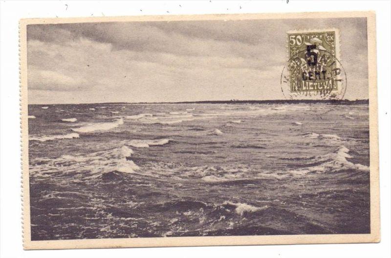 EESTI - ESTLAND, Palanga, Tausch-Karte GLOBUS-Welt-Tausch-Verein, 1923