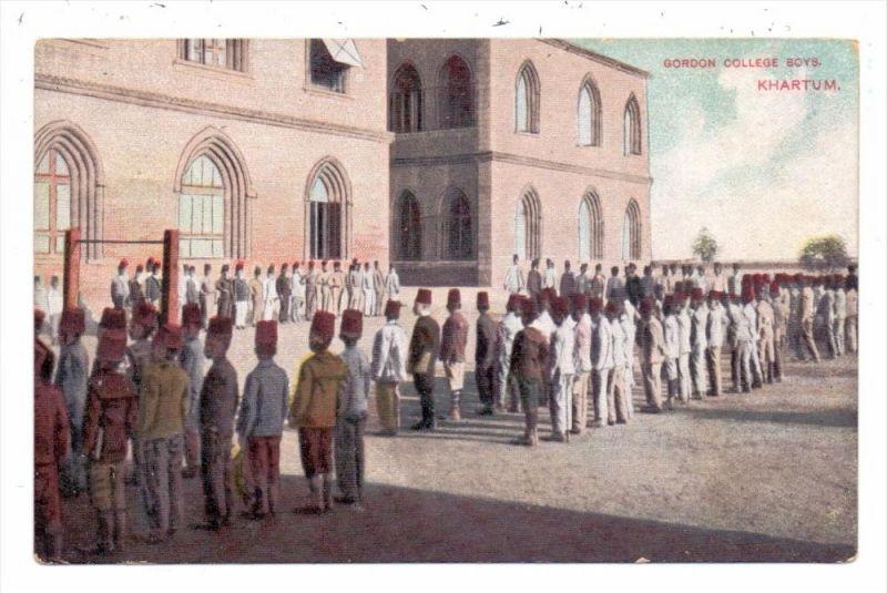 SUDAN - KHARTUM, Gordon College Boys