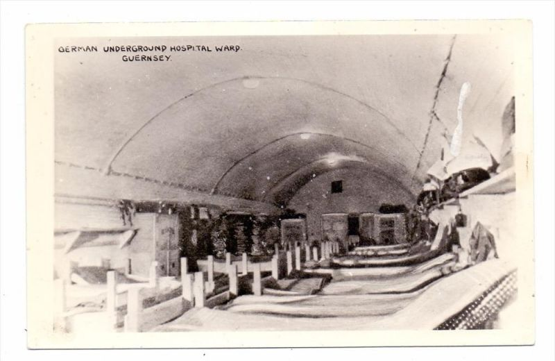 UK - CHANNEL ISLANDS - GUERNSEY - Deutsches Untergrund Krankenhaus / German Underground Hospital