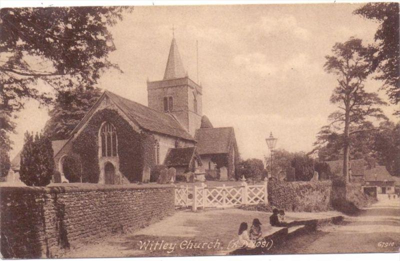 UK - ENGLAND - SURREY - WITLEY, Church, a.d. 1081