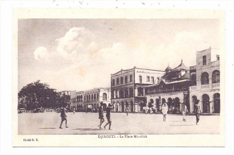 DJIBOUTI - La Place Menelick