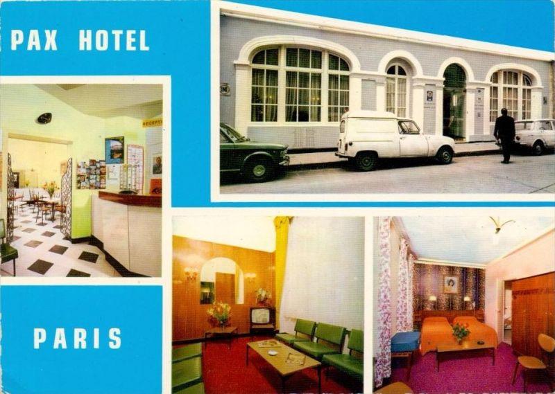 F 75015 PARIS, PAX HOTEL, rue de Trevise