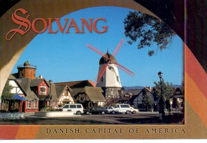 MÜHLE - WINDMÜHLE / Mill / Molen / Moulin - SOLVANG / USA