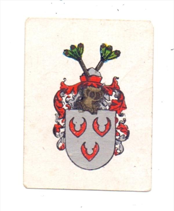 0-4413 SANDERSDORF - BREHNA, Wappen Grafschaft Brehna, Vignette