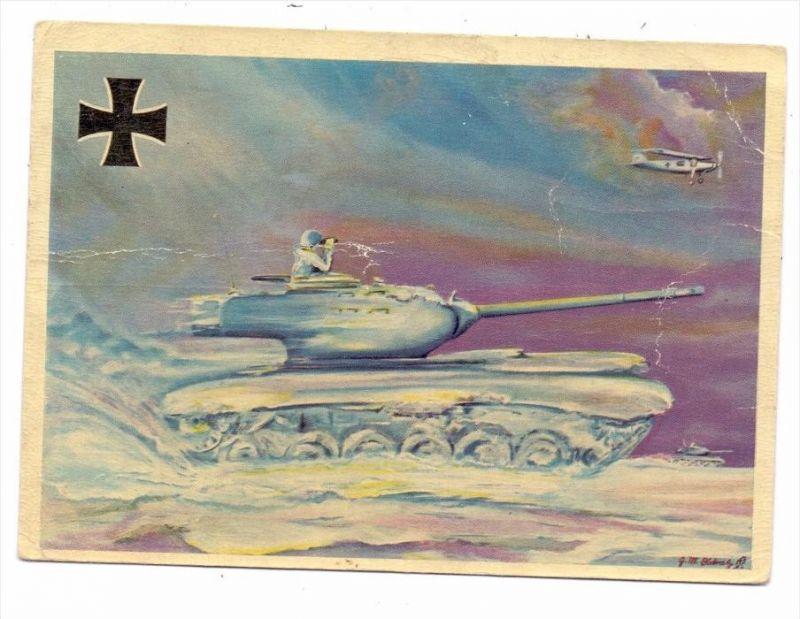 MILITÄR - Panzer / Tank / Chars - M 47, Bundeswehr, Druckstelle