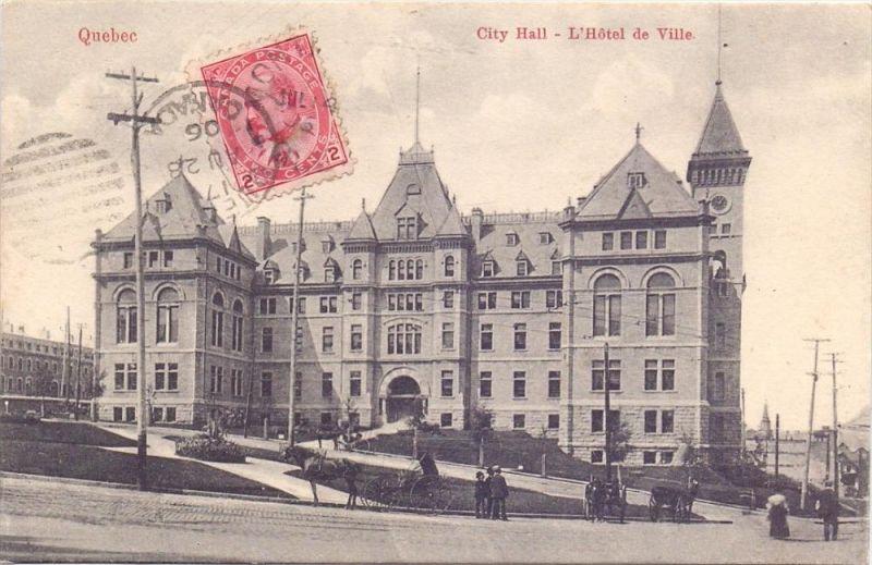 CANADA - QUEBEC Cite, City Hall, 1906