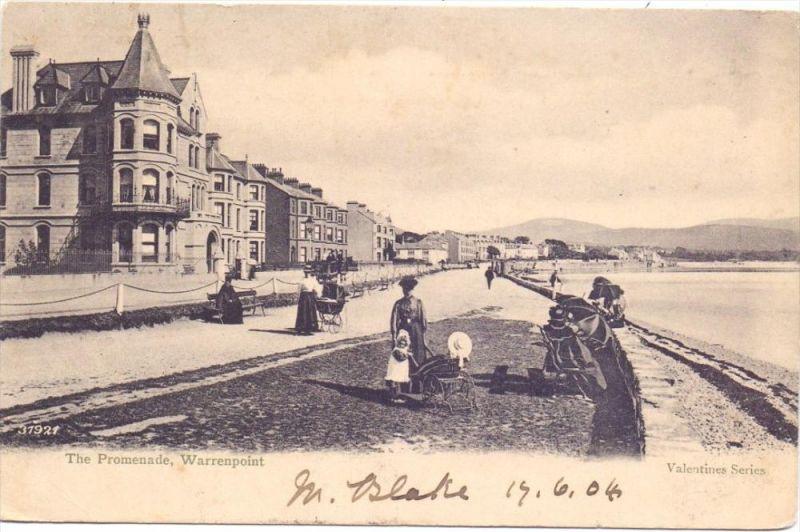 UK - NORTHERN IRELAND - DOWN - WARRENPOINT, The Promenade, 1904