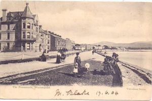 UK - NORTHERN IRELAND - DOWN - WARRENPOINT, The Promenade, 1904