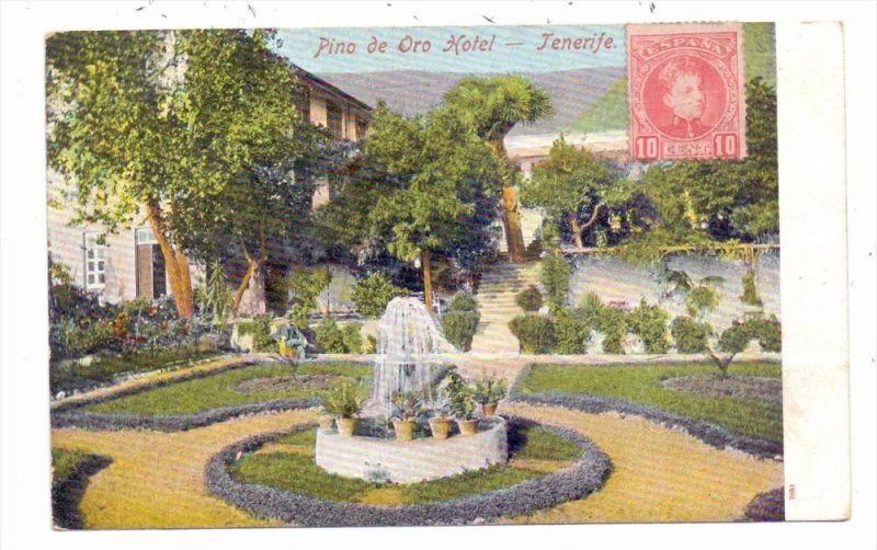 E 38000 TENERIFE, Hotel Pino de Oro, ca. 1905, undivided back