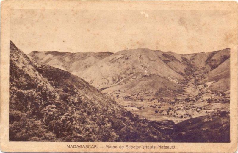 MALAGASY / MADAGASKAR - SABOTSY NAMEHANA, Plaine de..., 1935