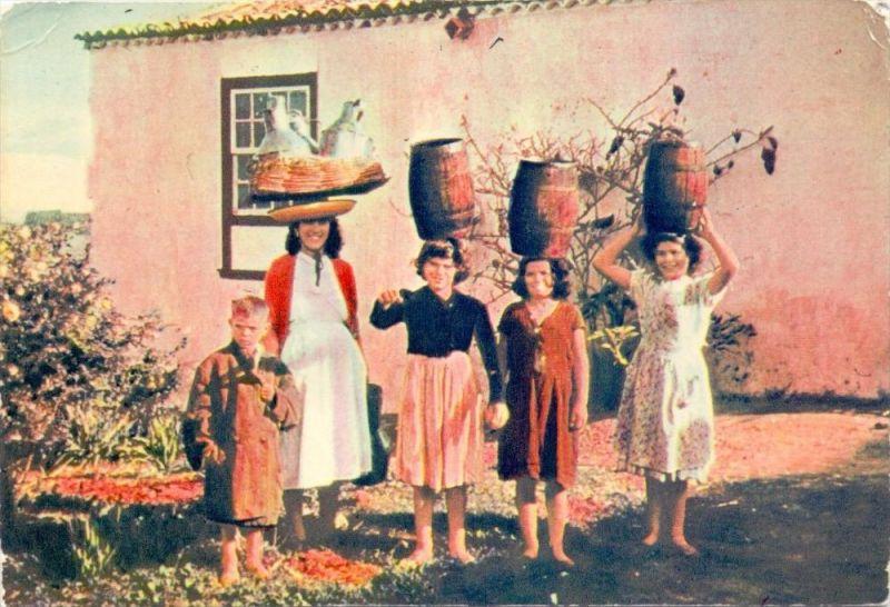 E 35000 LAS PALMAS, vida rural, Landleben, rural life, 1955