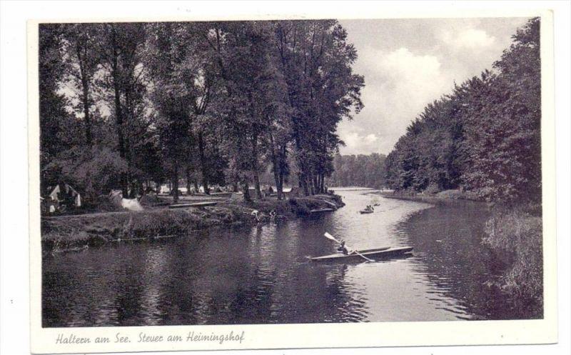 4358 HALTERN, Stever am Heimingshof, 1955
