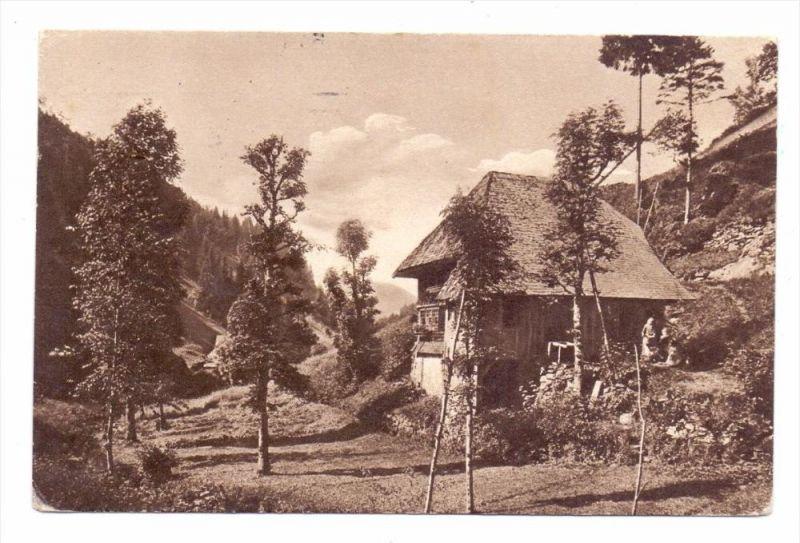 7743 FURTWANGEN, Haus in Hexenloch, 1916