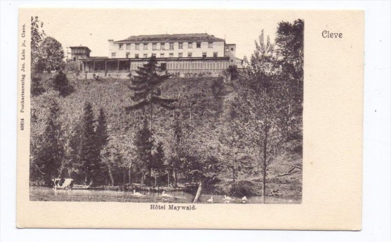 4190 KLEVE, Hotel Maywald, ca. 1905