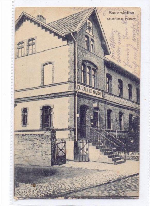 0-3601 HUY - BADERSLEBEN, Kaiserliches Postamt