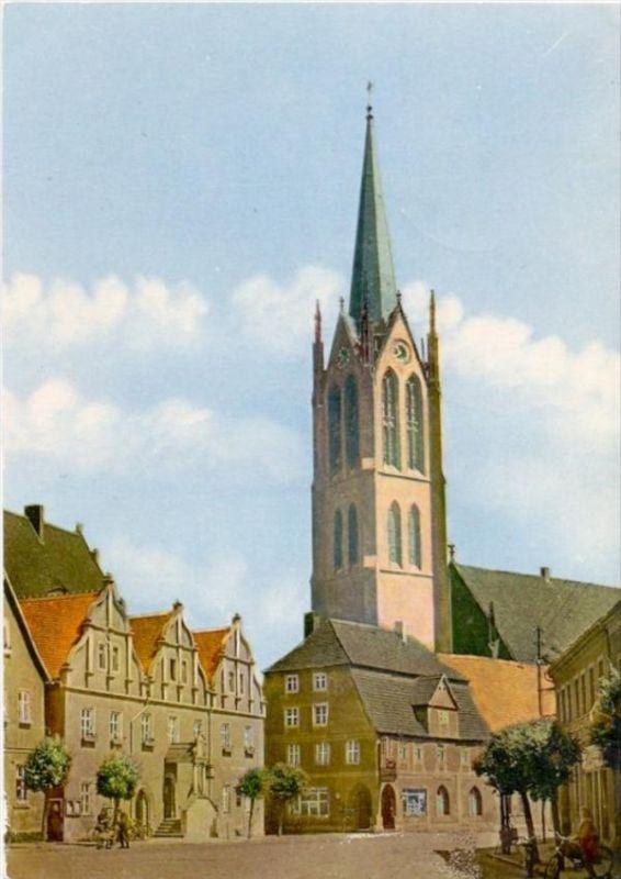 0-4604 KEMBERG, Rathaus, Platz des Friedens, 1968