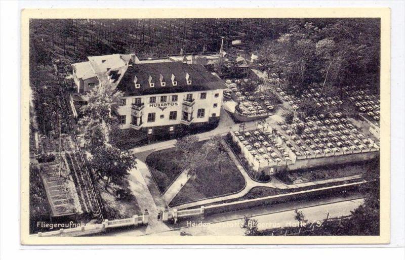 0-4000 HALLE - HEIDE, Heidegaststätte Hubertus, Flugaufnahme, 1939