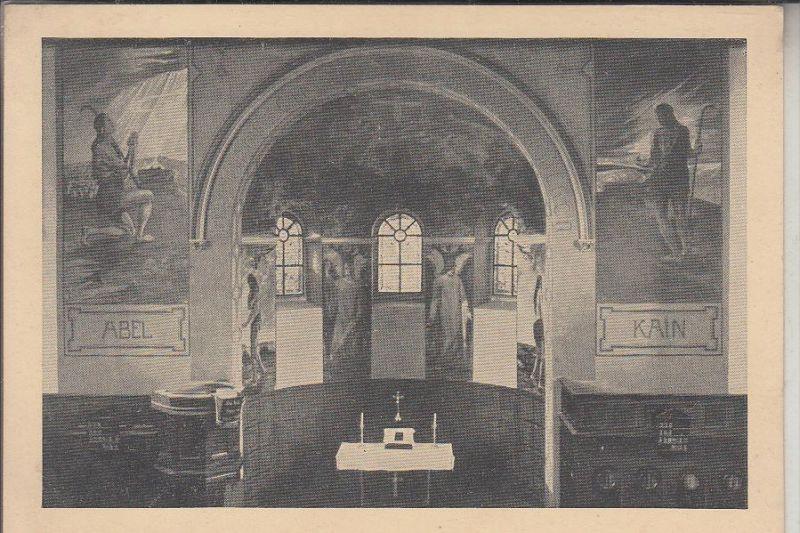 5206 NEUNKIRCHEN - SEELSCHEID, Seelscheid, Neuausmalung der ev. Kirche. Kunstmaler Ernenputsch - Breisig