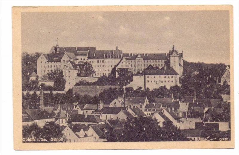 0-7242 COLDITZ, Schloß & Umgebung