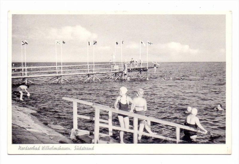 2940 WILHELMSHAVEN, Südstrand, 1958