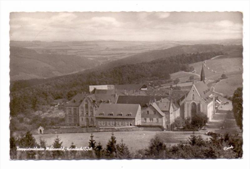 5169 HEIMBACH, Trappistenkloster Mariawald, Panorama, 1956