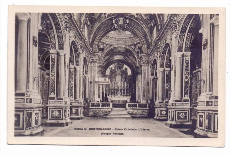 I 03043 CASSINO, Monte Cassino, Chiesa Cattedrale, Kirchenorgel