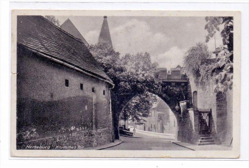 0-4200 MERSEBURG, Krummes Tor, 1940