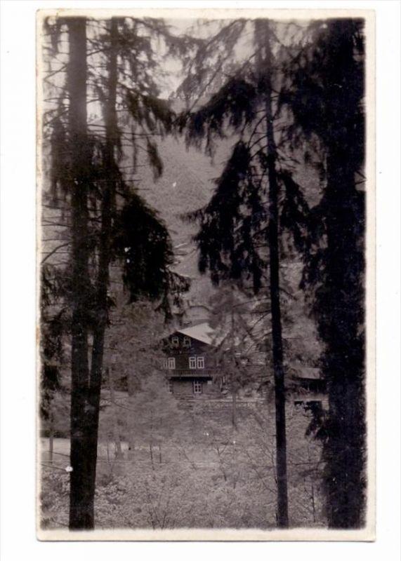 0-6825 SCHWARZBURG, Schweizerhaus, Schwarzatal