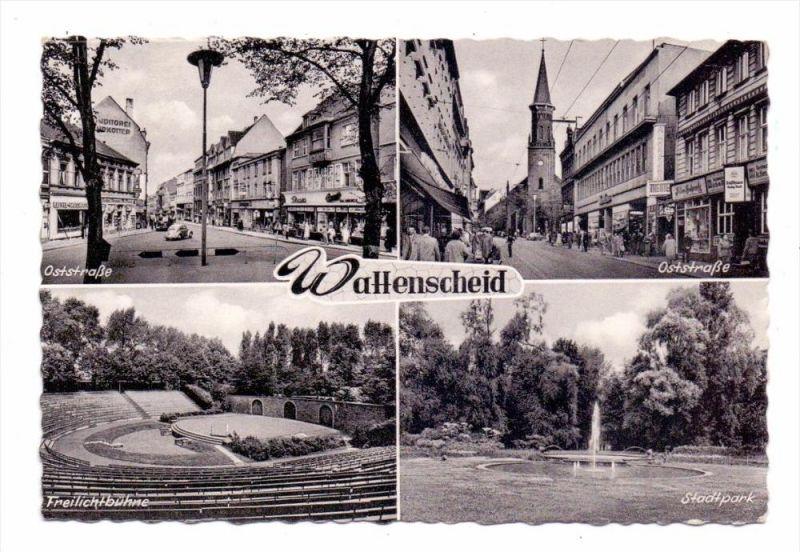 4630 BOCHUM - WATTENSCHEID, Oststrasse, Freilichtbühne, Stadtpark, 1961