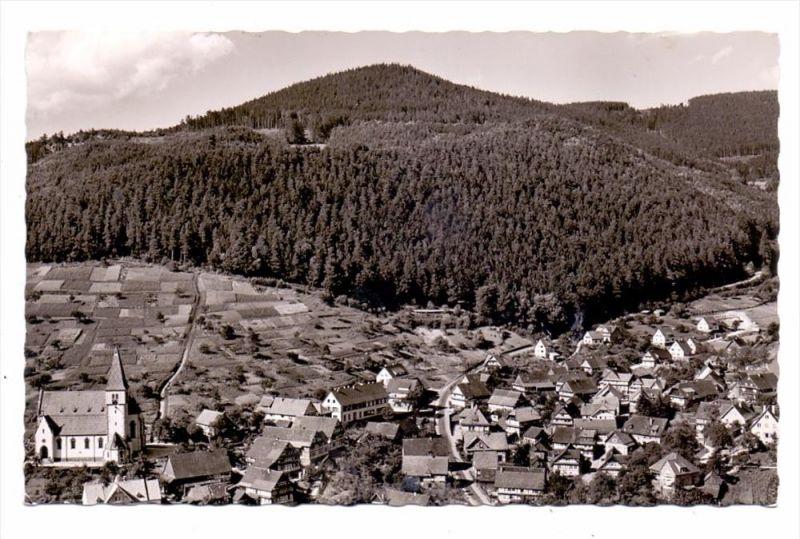 7562 GERNSBACH - LAUTENBACH, Panorama, Landpoststempel, 1959