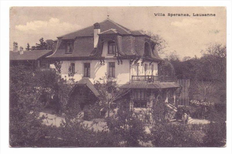 CH 1000 LAUSANNE VD, Villa Speranza, 1927