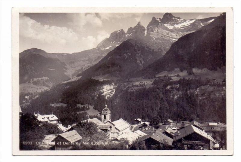CH 1874 CHAMPERY VS, Dorfansicht