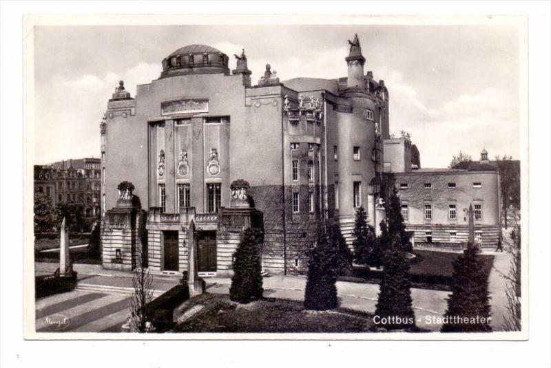 0-7500 COTTBUS, Stadttheater, 1940