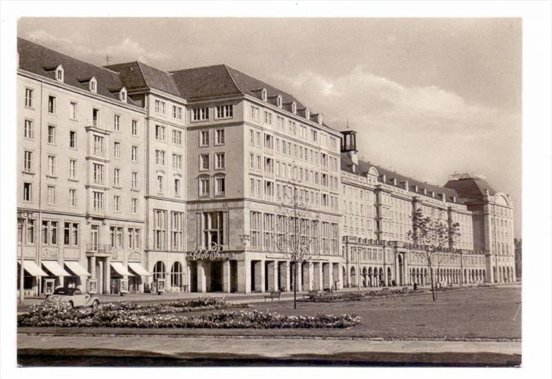 0-8000 DRESDEN, Altmarkt, Neubauten, 1959
