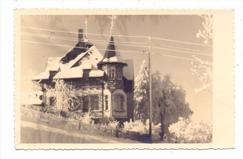 0-8242 ALTENBERG, Einzelhaus, Photo-AK, 1955