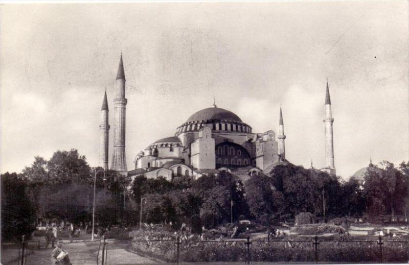 TÜRKIYE / TÜRKEI - ISTANBUL, Ayasolya Müzesi, 1956