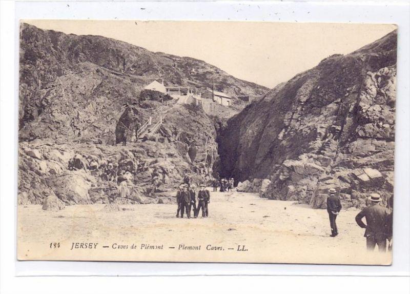 UK - CHANNEL ISLANDS - JERSEY - Plemont Caves, Louis Levy # 184, Druckstelle