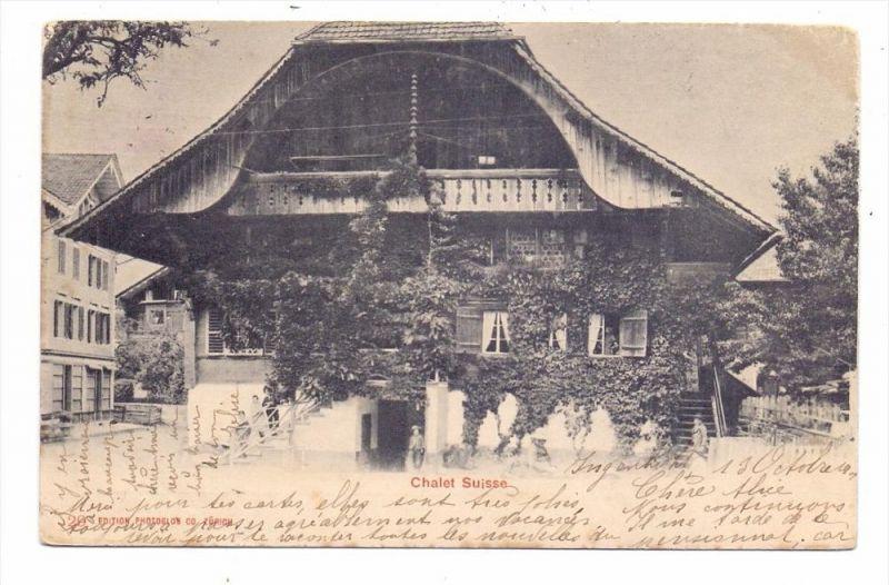 CH 6440 BRUNNEN SZ, Chalet Suisse, 1901