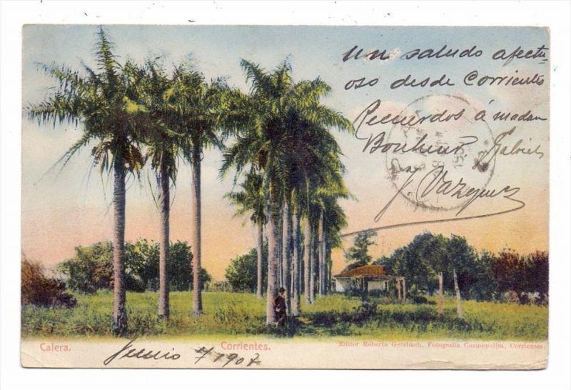 ARGENTINA - CORRIENTES, Calera, 1907