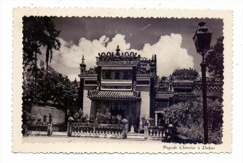 VIET-NAM - DAKAO, Pagode Chinois, 1953