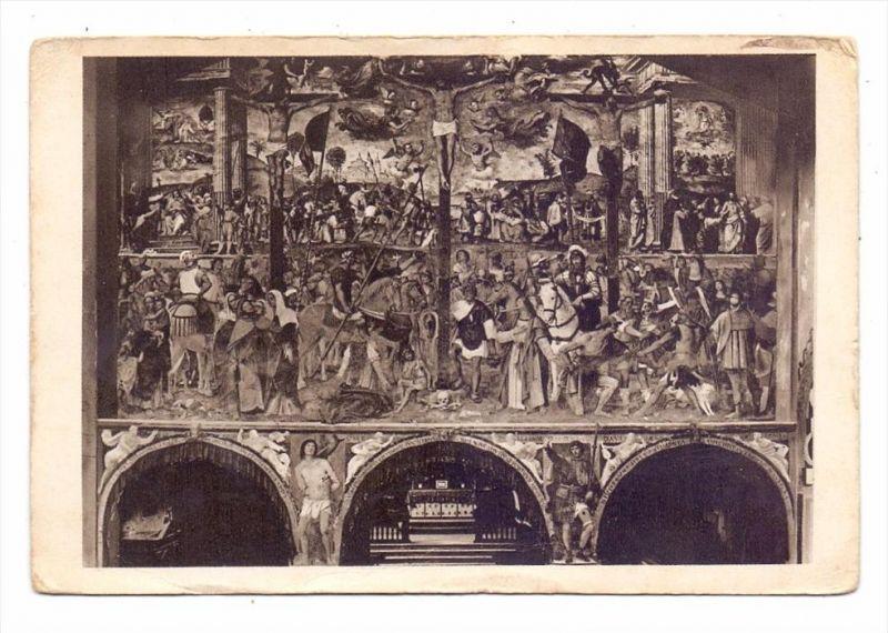 CH 6900 LUGANO, Chiesa degli Angioli, la Crocefissione