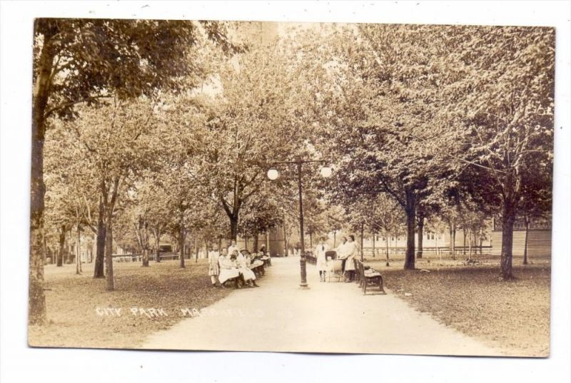 USA - WISCONSIN - MARSHFIELD, City Park, 1929
