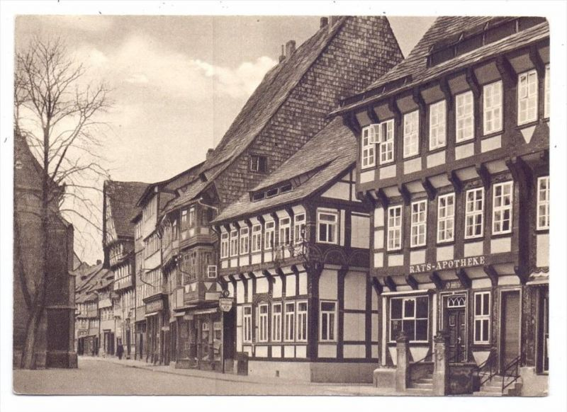 3352 EINBECK, Marktplatz, Rats-Apotheke