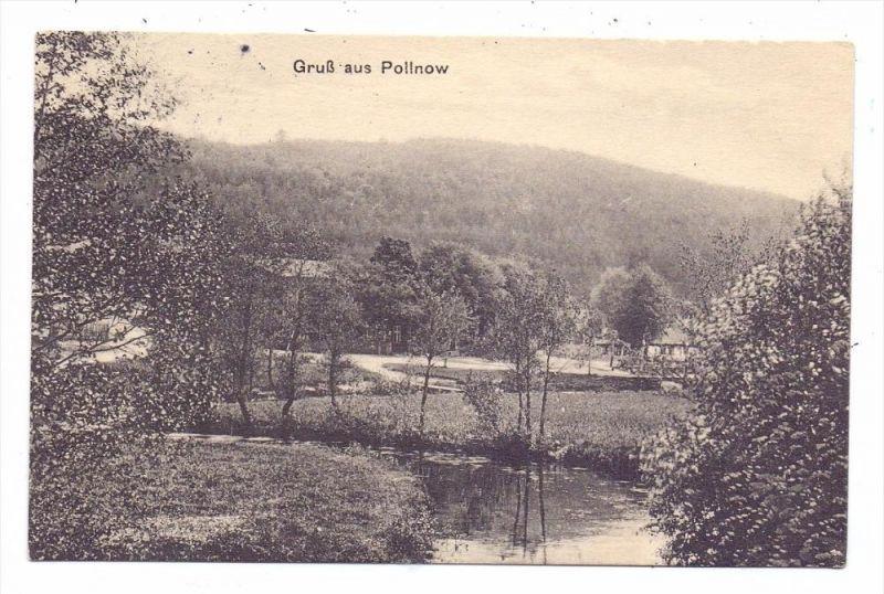 POMMERN - POLLNOW / POLANOW, Kreis Köslin, Gruss aus..., 1913